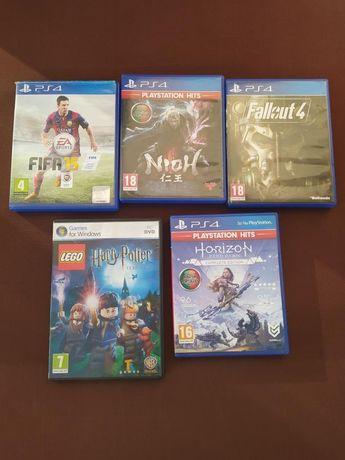 Jogos para PS4 e PC