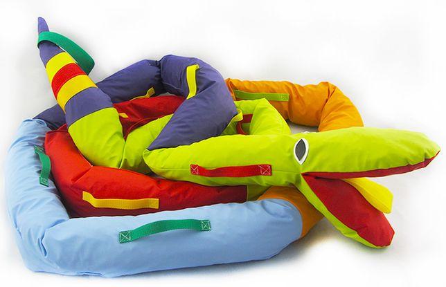 Wąż spacerowy - gąsienica 5,5 metra/22uchwyty