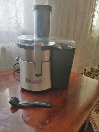 центробежная, 850Вт, емкость для сока: отдельностоящая, 1л
