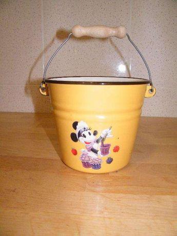 Balde metal da Minnie da Disney Paris