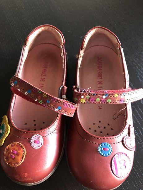 Sapatos menina Agatha Ruiz de la Prada