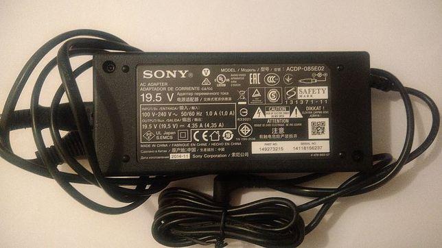 Zasilacz Sony ACDP-085E02 19,5V