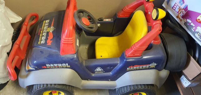 Samochodzik dla dziecka na akumulator