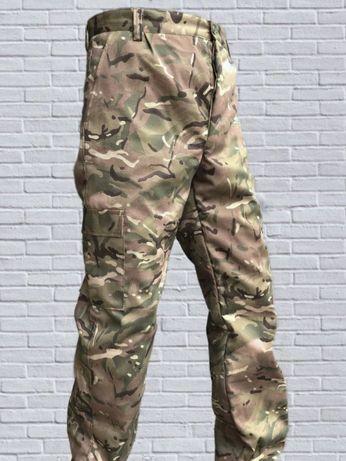 Штаны брюки Утепленные на Флисе для военнослужащих (Мультикам)Multicam