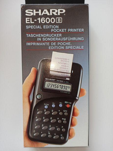 Kalkulator Sharp EL-1600 B z Drukarką