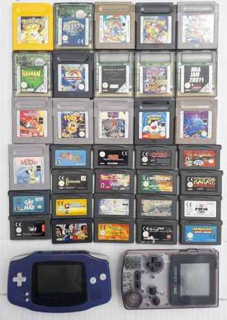 Nintendo Game Boy Collor e Advance