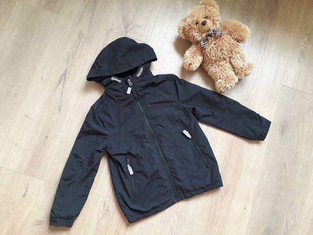 Куртка- ветровка черная на флисе. bluezoo. 8 лет.