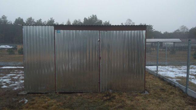 Garaż blaszany 4x5 ocynk