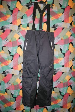 Зимние штаны с лямками Hannah ISSUE STRETCH с Thermore