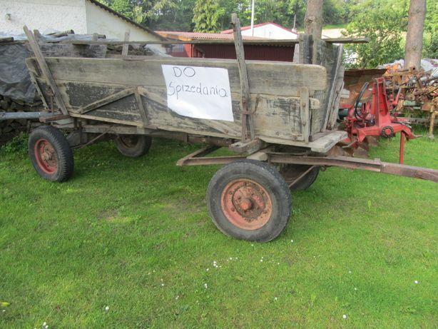 wóz konny rolniczy solidny dobry stan