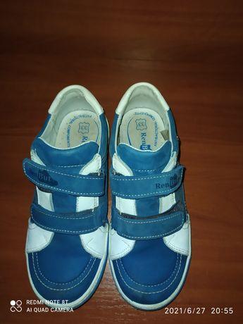 Кожаные туфли 33 р.
