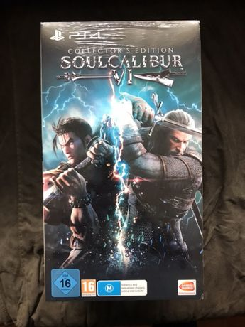 Soul Calibur VI 6 Collectors Edition ps4