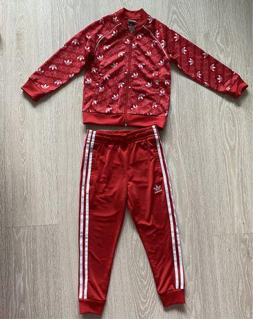 Костюм adidas 116 puma спортивный nike 5 6 оригинал reebok куртка gap