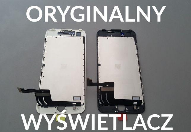 Oryginalny wyświetlacz iPhone 7 ekran dotyk ramka naprawa zbita szybka