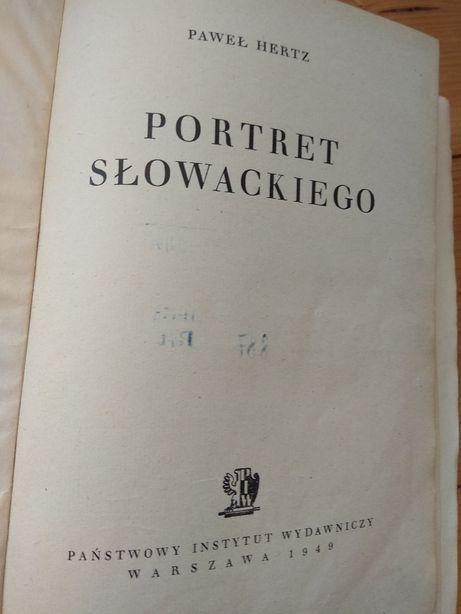 Paweł Hertz Portret Słowackiego