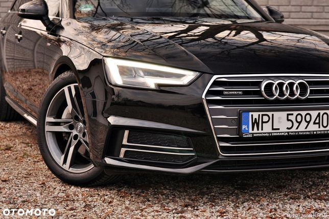Audi A4 ___s Line___quattro___niski Przebieg