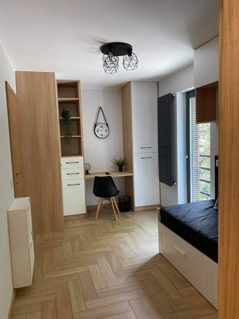 Apartament z prywatną łazienką w nowym luksusowym mieszkaniu Ligota