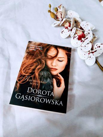 Książka Karminowe Serce Dorota Gąsiorowska