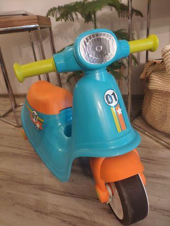 Jeździk Smoby scooter motor skuter biegowy biegówka 2-4 lata jak nowy