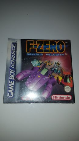 Gra oryginalna F-Zero Nintendo Game Boy Unikat folia