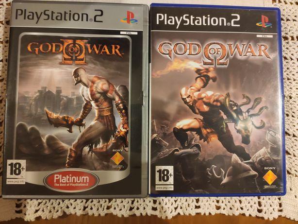 Pack God of war - jogos ps2 - ler descrição
