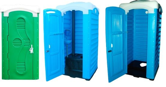 Туалетная кабина, строительная, дачная, септик