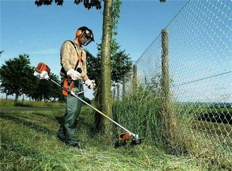 Koszenie trawy, odśnieżanie szybko dokładnie faktura