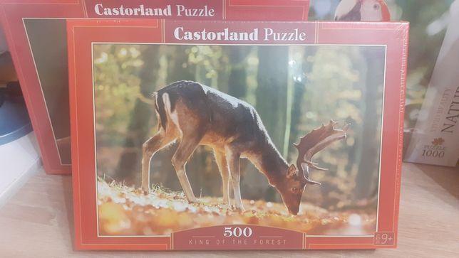 Puzzle 500 Nowe w folii!!