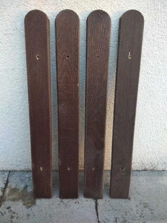 Sztacheta drewniana ryflowana 60 cm 10 szt.