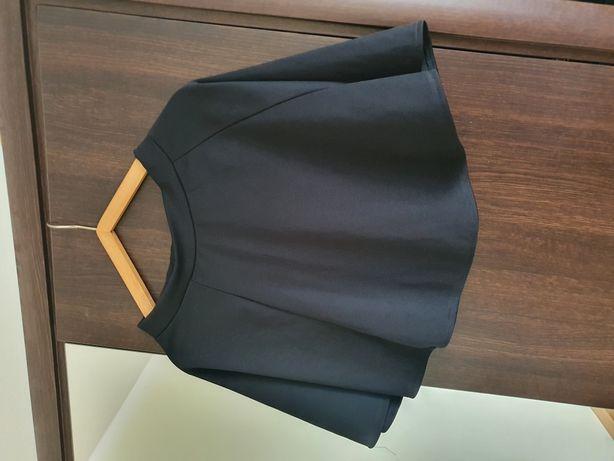 Spodniczka spódnica 36 s czarna rozkloszowana
