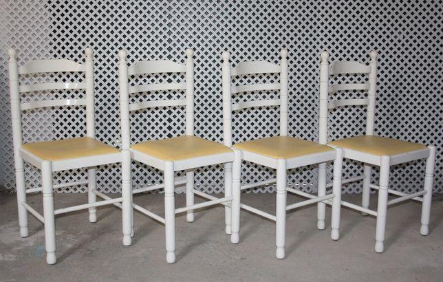 Cadeira lacado a branco