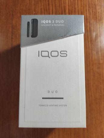 IQOS 3 DUO Тёмный в идеале, использовал 1.5 месяца