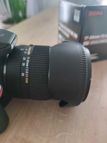 Obiektyw Sigma 17-50 mm