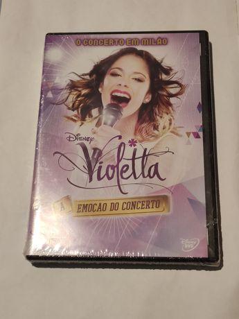 DVD do concerto da Violetta