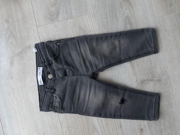Zara spodnie rurki