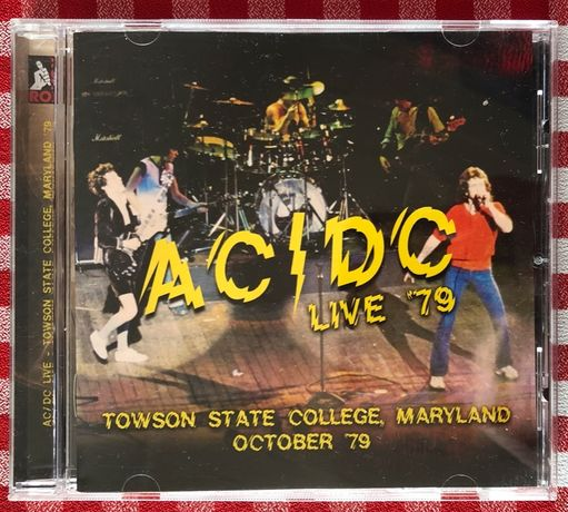 AC/DC Live '79 - Towson State College, Maryland, Oct. 1979