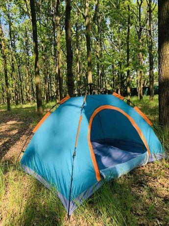 Туристическая палатка автомат, 2-х, 4-х, 6 местная опт и розниц