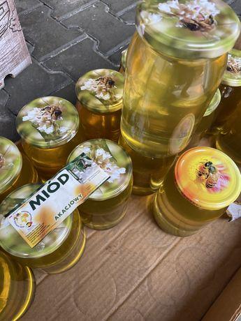 Prawdziwy miód naturalny miod wielokwiatowy lipowy gryczany spadziowy