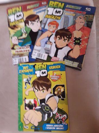 Ben 10, gazety i komiks