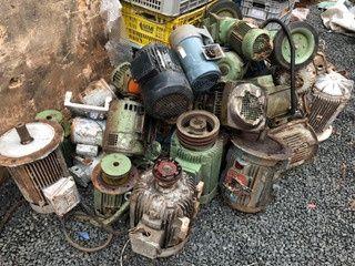 Conpro todo tipo de sucatas cobre latao Aluminio ferro ets