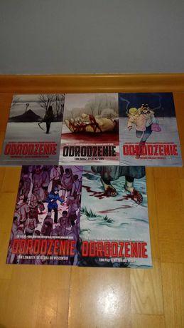 Odrodzenie komiks 1-5 tomy