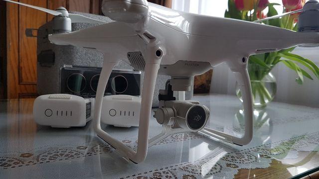 Dron DJI Phantom 4 + 2 baterie + filtry ND + karta
