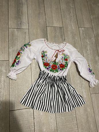 Вышиванка + юбка на девочку