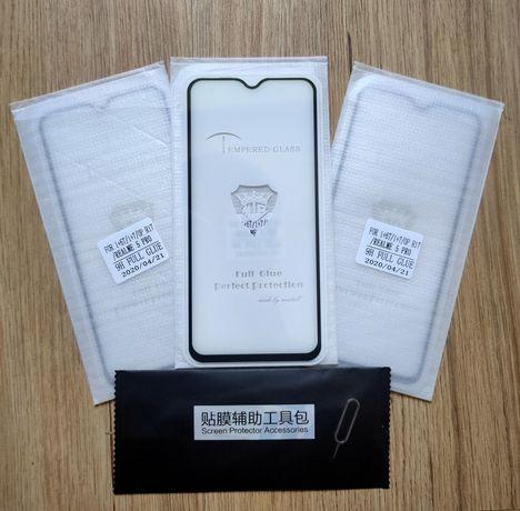 3 шт. Защитное стекло  oneplus 6T,7/ oppo r17 / Realme 5 Pro