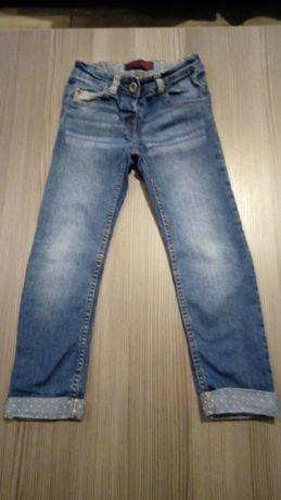 Spodnie jeansowe roz. 116