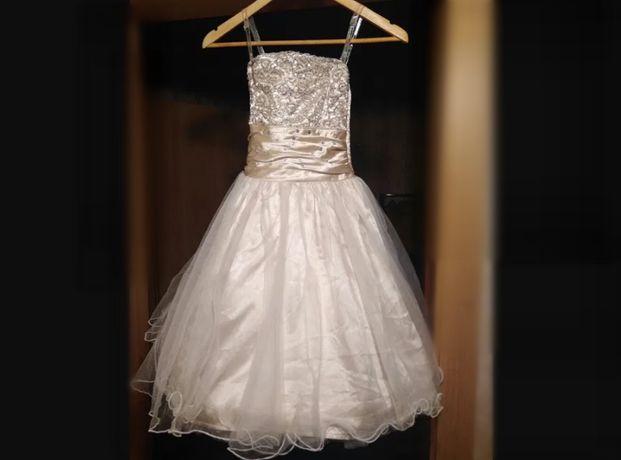 Праздничное пышное платье 7-9 лет