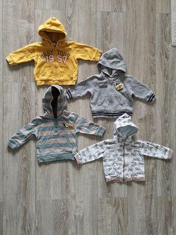 Bluza z kaptur 74 komplet h&m Mothercare 80 Old Navy Coccodrillo paka
