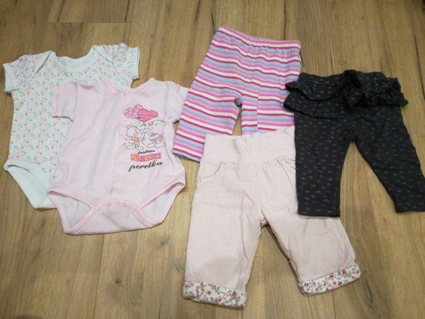 Body i spodnie niemowlęce 62