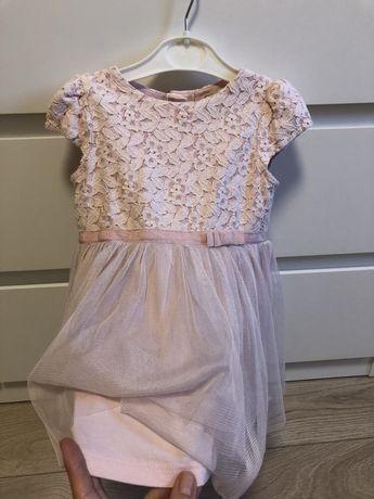 Нарядное платье Next на 1-2 года