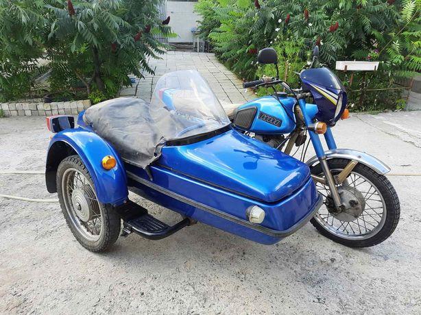 Срочно Отличный мотоцикл Иж Планета-5 -350 кубиков,коляской.или обмен